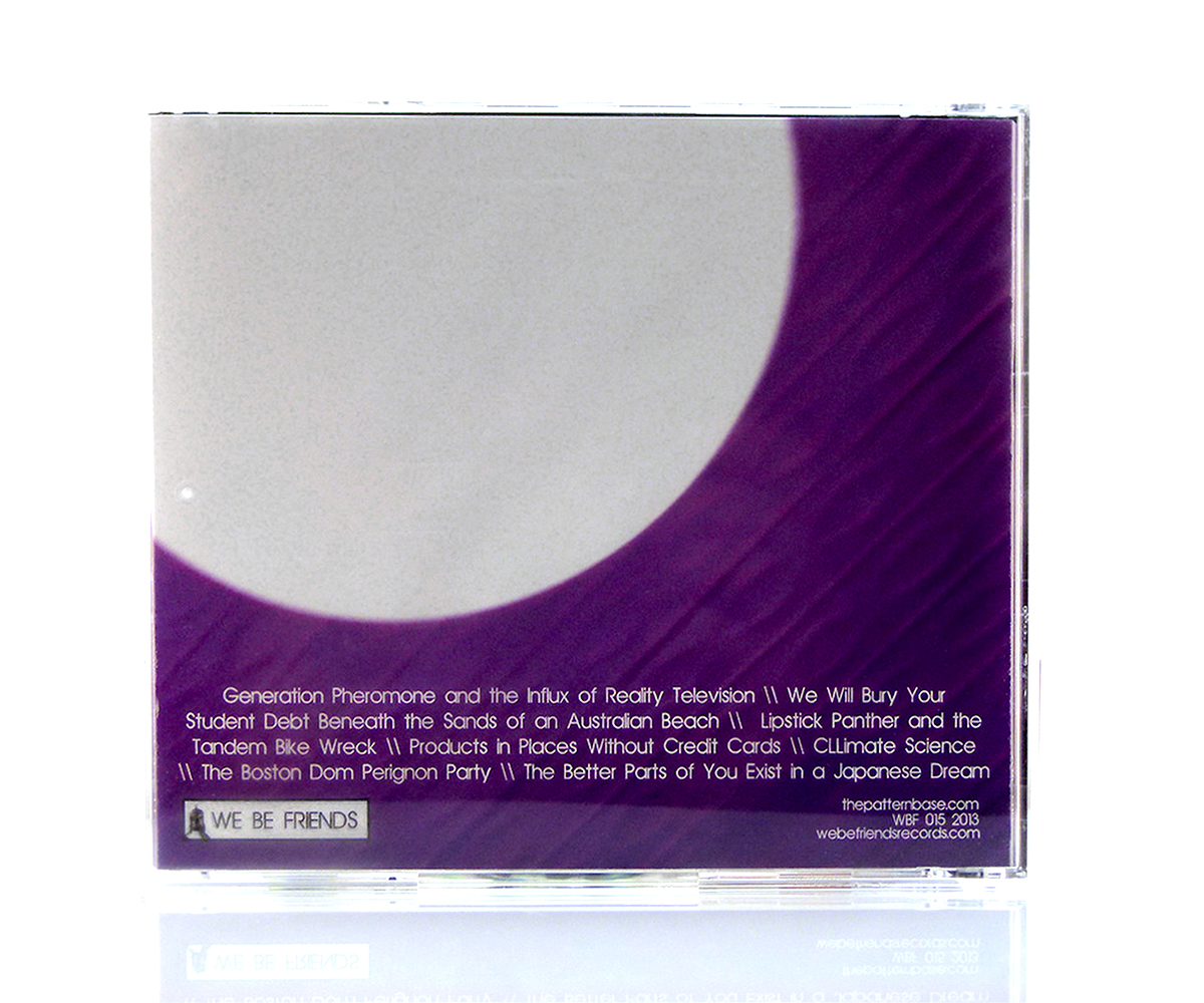 CD Jewel Case (Back Cover)