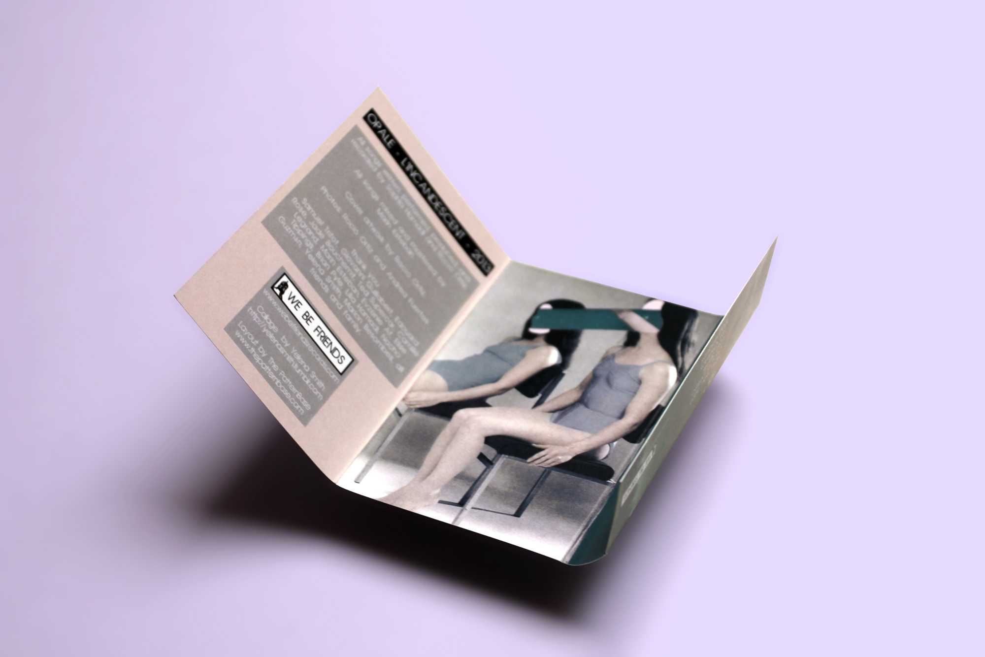 "Opale ""L'Incandescent"" Cassette (Interior Card)"