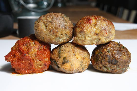 Meatball Types