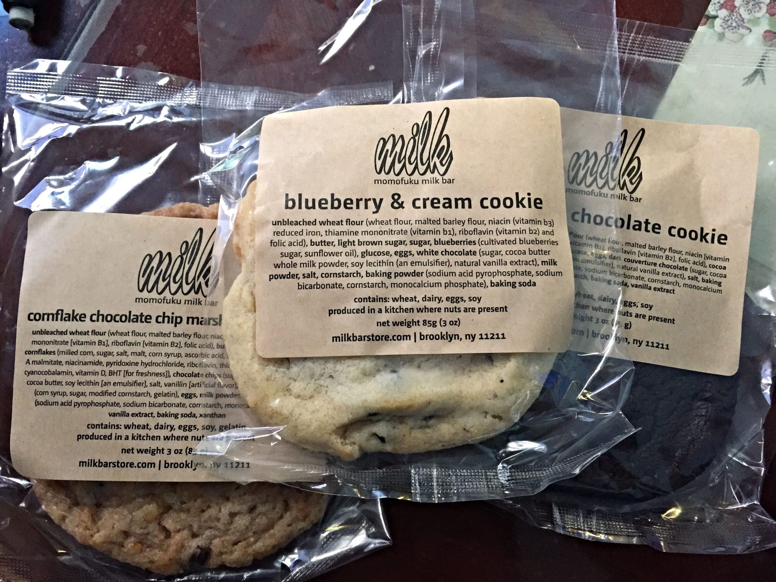 Milk Bar Cookies
