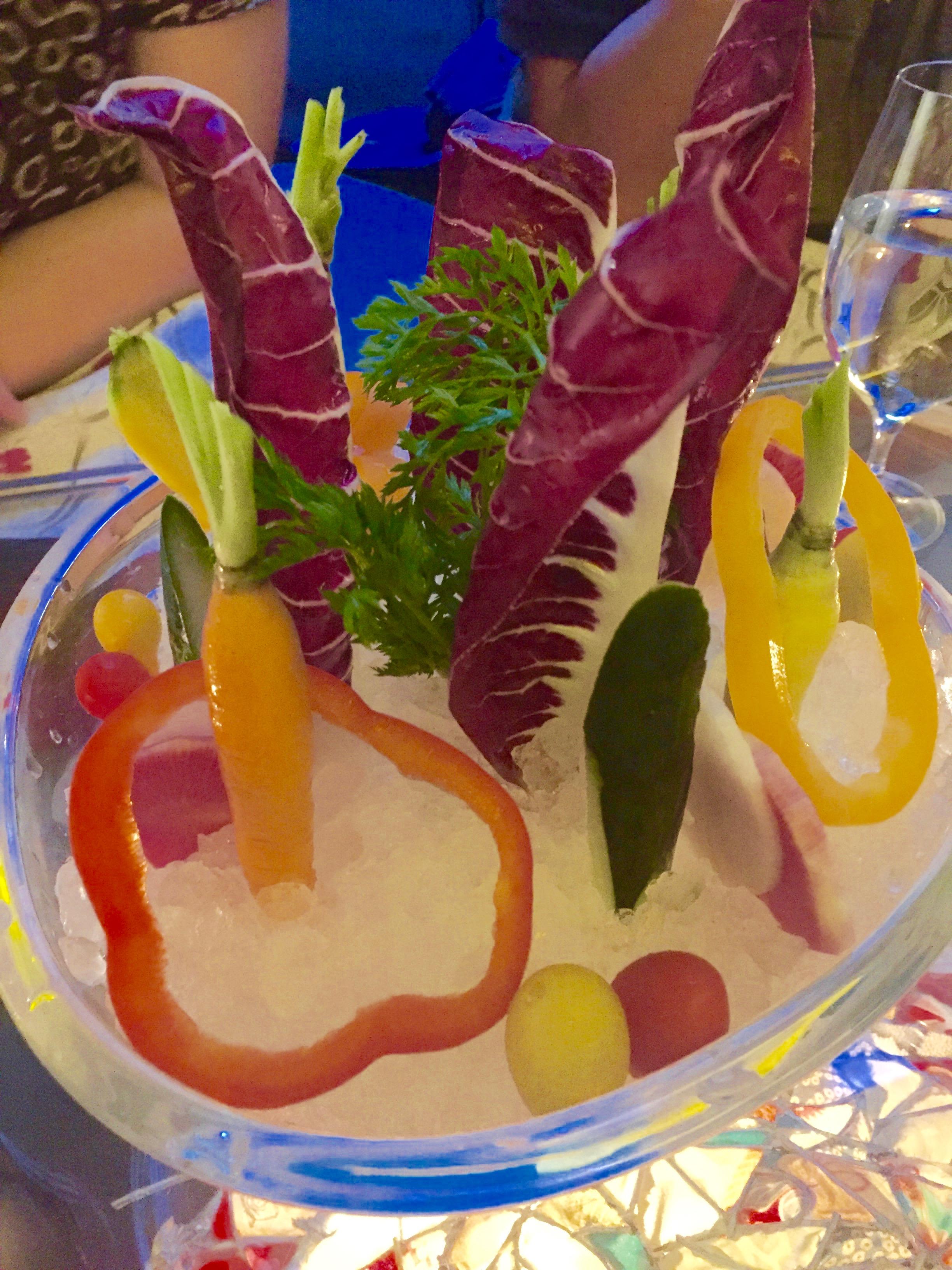 Farmer's Fresh Vegetable Fondue