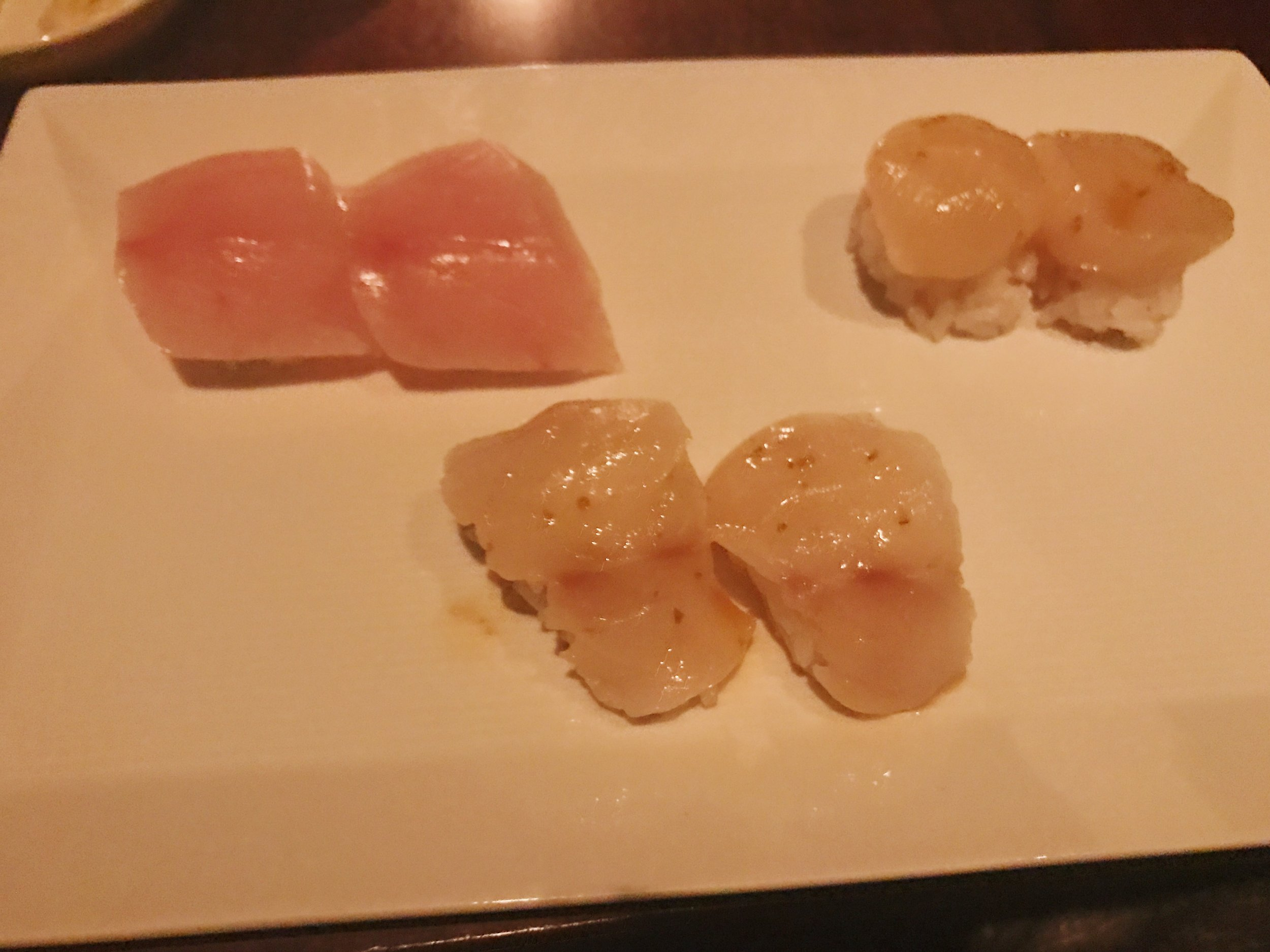 Yellow Tail : AmberJack : sea Scallop