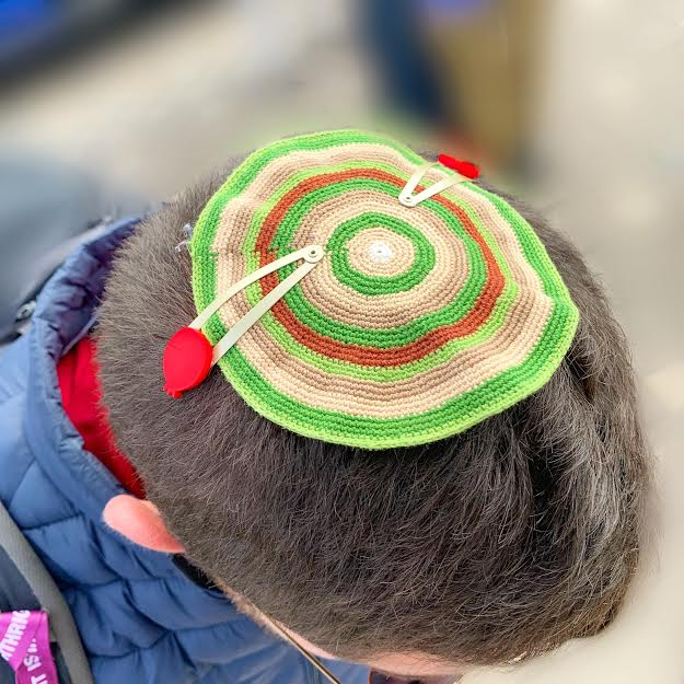 Pomegranate Kippah Clips!