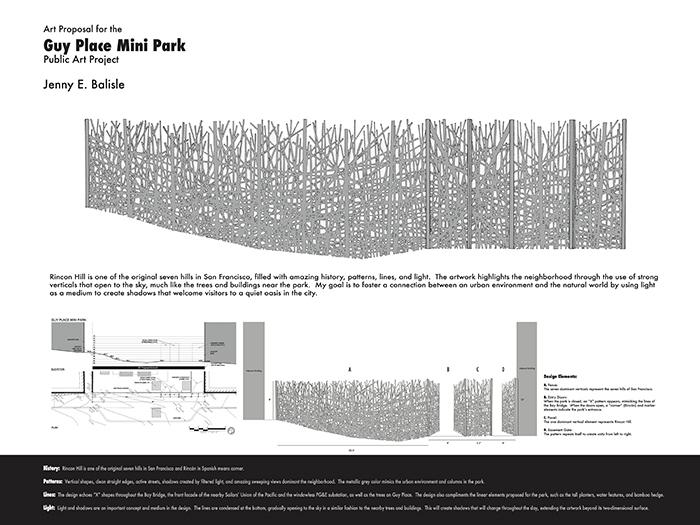 Guy Place Mini Park proposal.