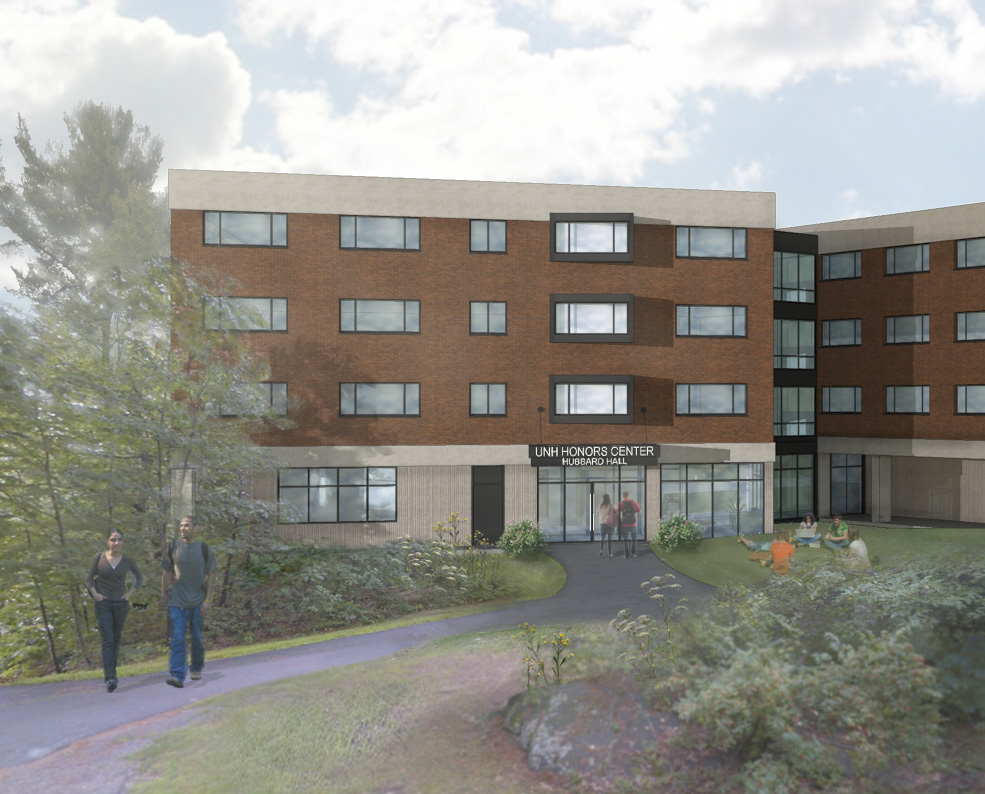 University of New Hampshire:  Hubbard Hall Addition