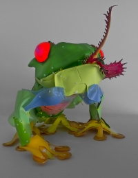 """Disappearing Tree Frog"" by Cynthia Minet"