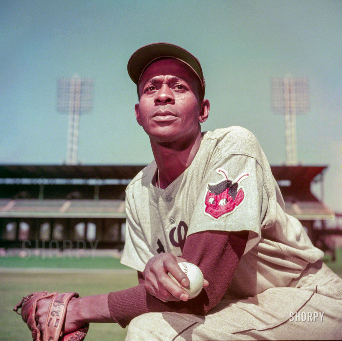 Satchel Paige - attracted record crowds wherever he pitched!