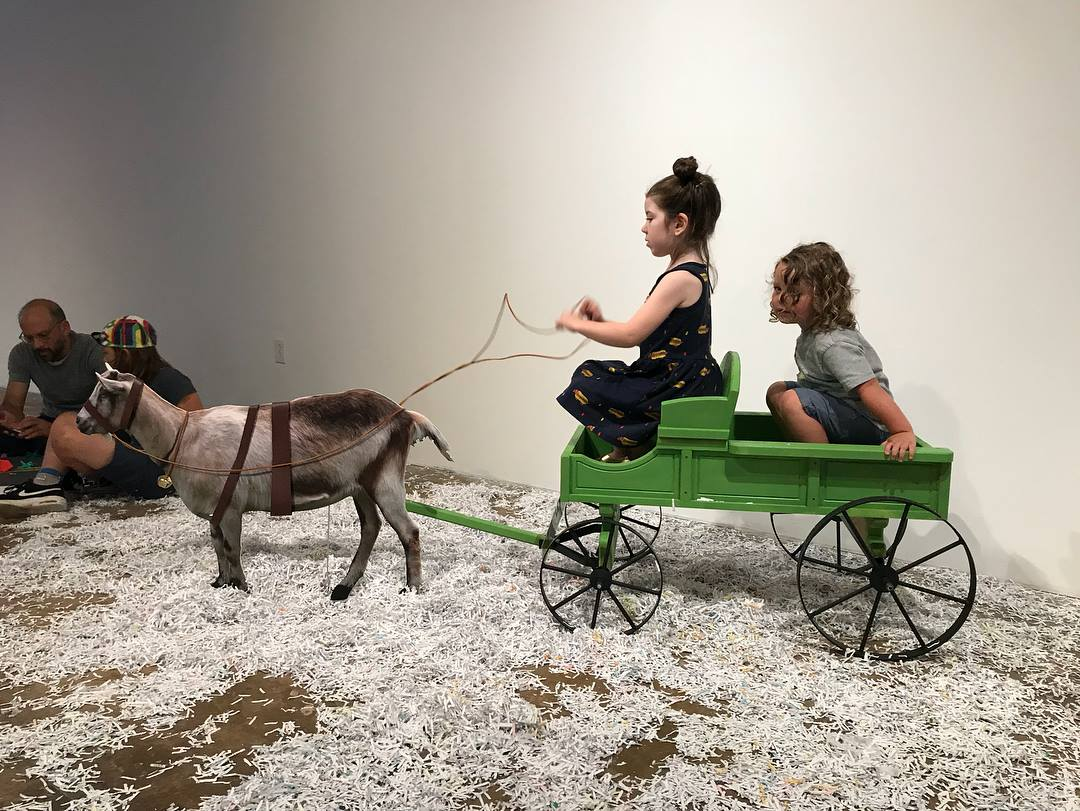 RALEIGH GOAT CART
