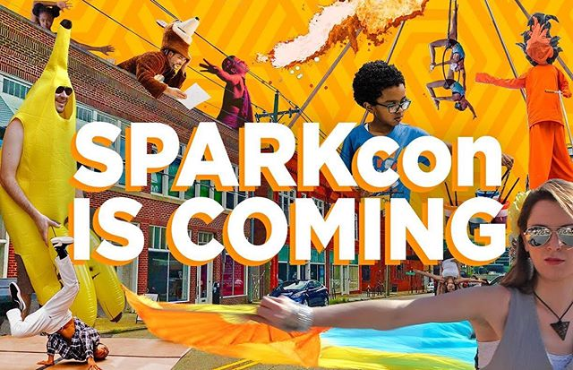 Heads up Warehouse District! HERE COMES SPARKcon!  VAE and all of our @sparkconner family is thrilled to announce that North Carolina's biggest community-driven creativity festival is relocating to the neighborhood that's been our headquarters for the past eight years!  SPARKcon re-energized + rebooted! Join us September 13 - 15, as 2000 artists run amok in downtown Raleigh's historic Warehouse District! Chalk painting, poetry-on-demand, circus performances, live music, innovative tech, comedy— everything you know and love about SPARKcon will be there with new creative projects in new cool venues! And of course, SPARKcon remains a free + open event!