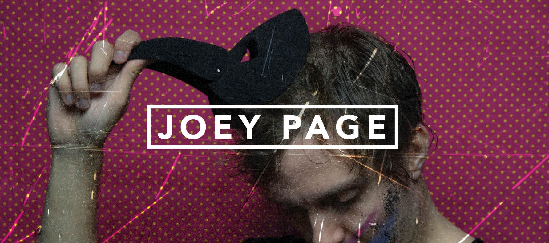 dead man label joey page
