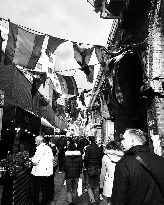 Market days in London. Maltby St. 🇬🇧