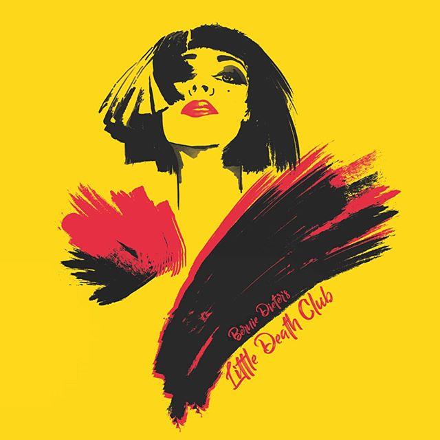 New album artwork for the Queen of Weimar punk @bernieslittledeath