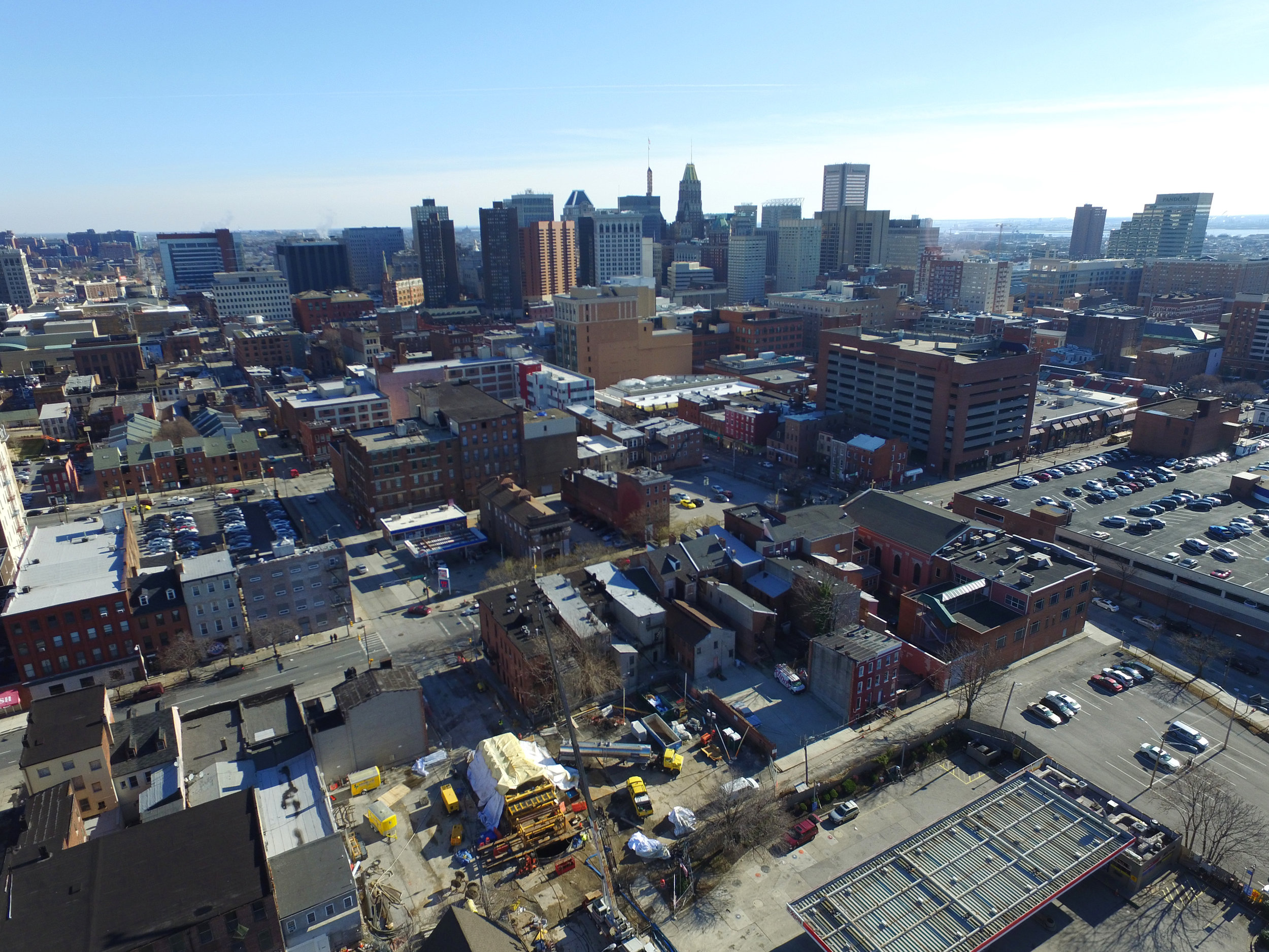 Baltimore City Emergency Sinkhole Repairs