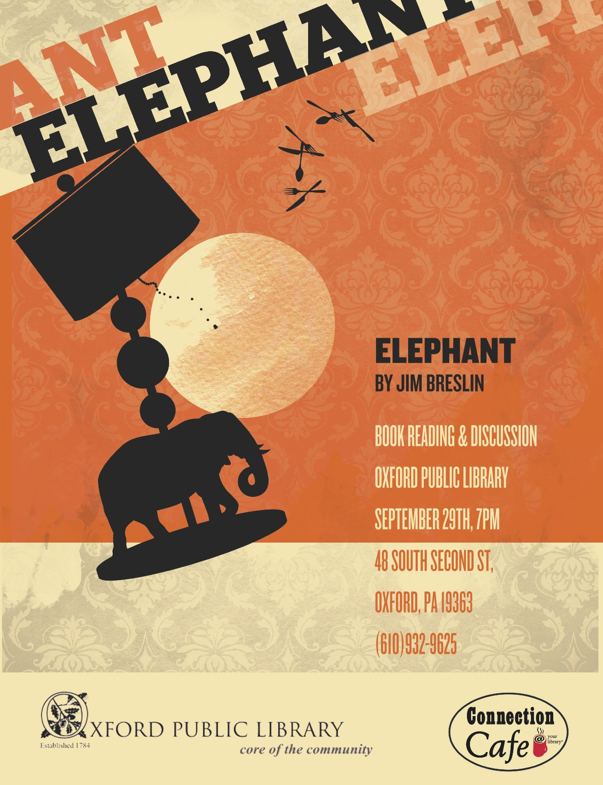 Elephant - Reading at Oxford Library