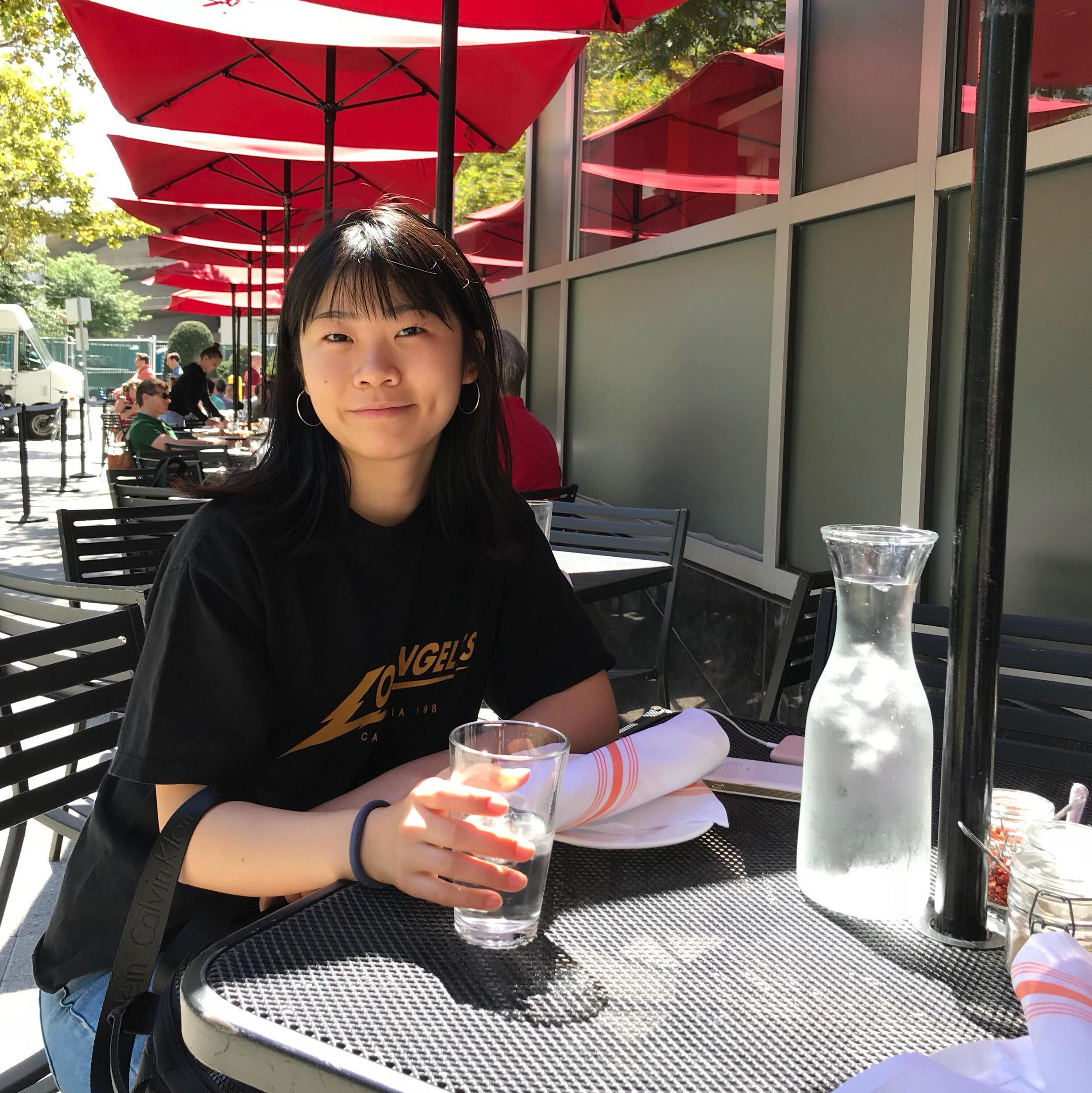 Name : Lucy Wang   Graduation year:  2023   Majors:  Electrical & Computer Engineering   Interests : I'm not sure what specific area within my major interests me the most, but I definitely enjoy coding, physics, and doing math! I love playing sports, especially badminton and volleyball, and going on outdoor adventures! I also LOVE eating good food, getting boba, and watching Netflix/Youtube in my free time.   Project area:  I'm interested in projects that involve app development, software engineering, or just anything that's helpful to the community!   Fun fact : I had two chinchillas before I moved to New York City for high school. They were the cutest.