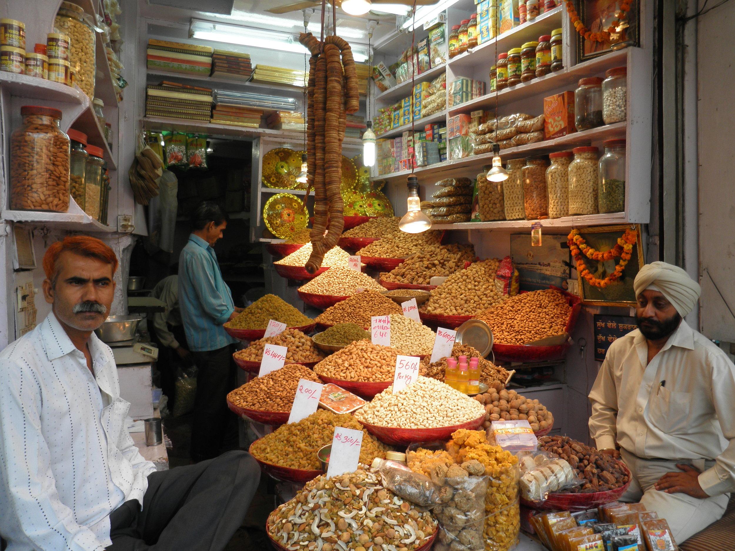 old delhi spice market