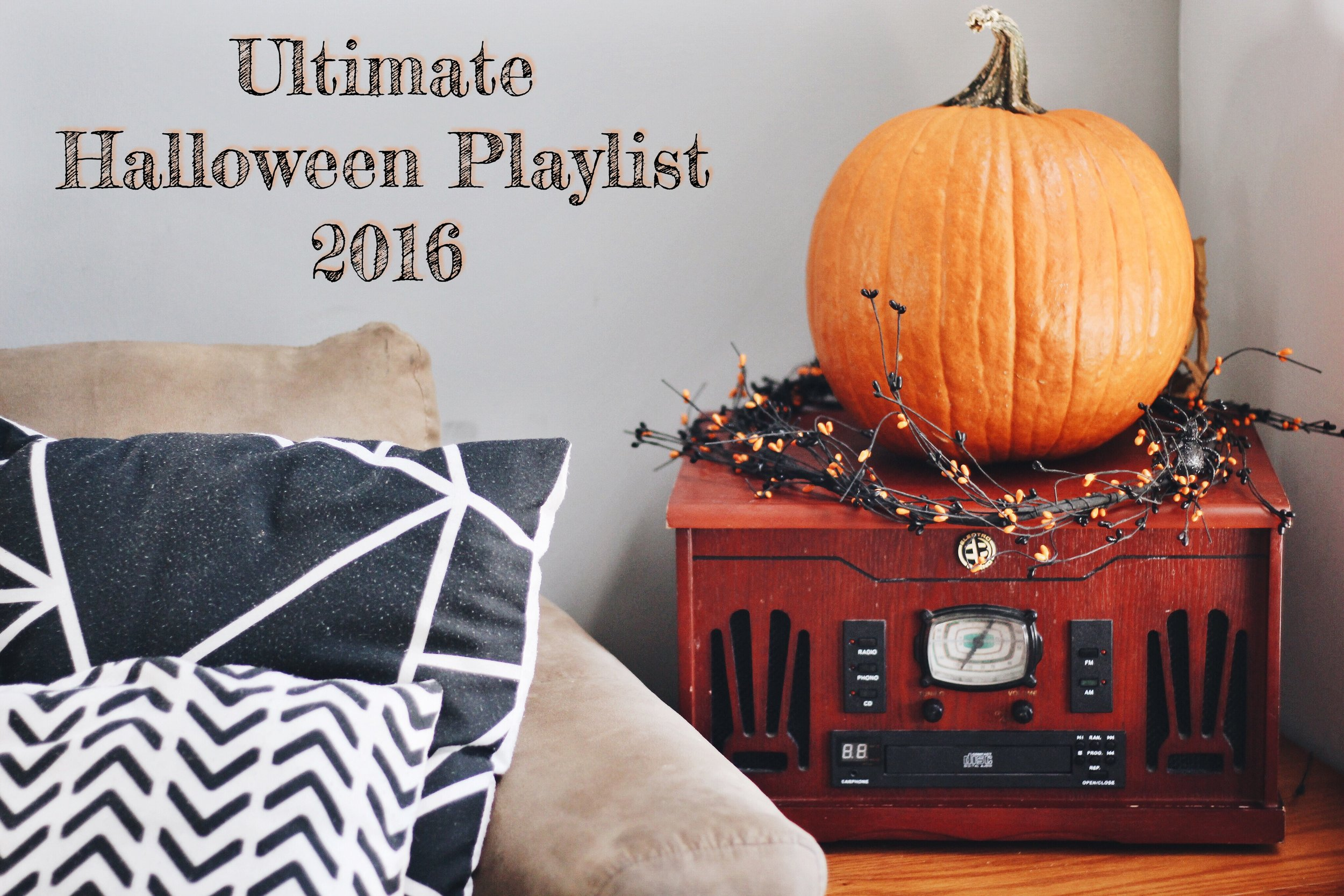 The Lovely Cicada | 93 Songs for the Ultimate Halloween Playlist 2016