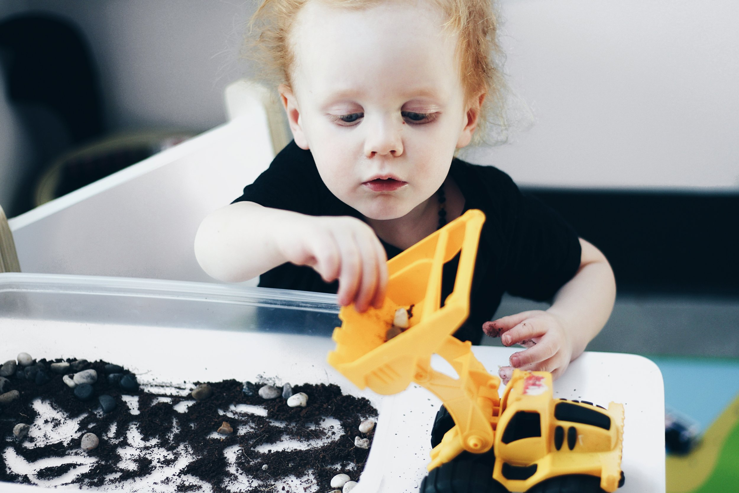 Sensory Activity for Toddlers and the Power of Dirt Medicine