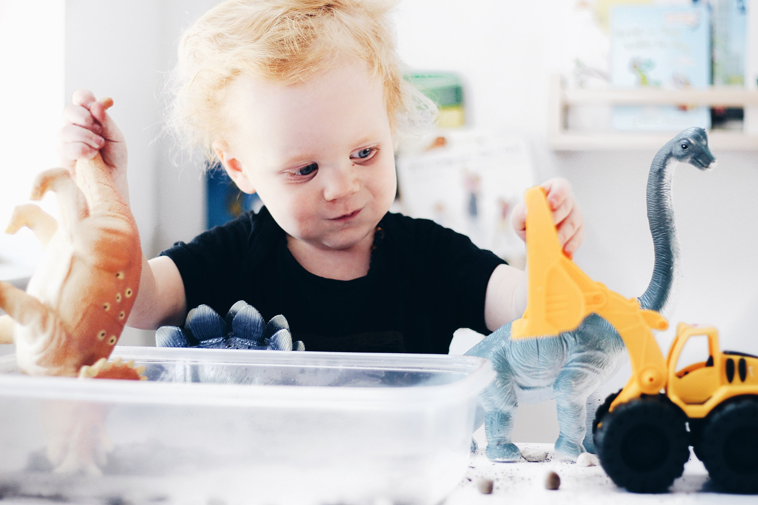 Sensory Activity for Toddlers and the Positives of Dirt Medicine