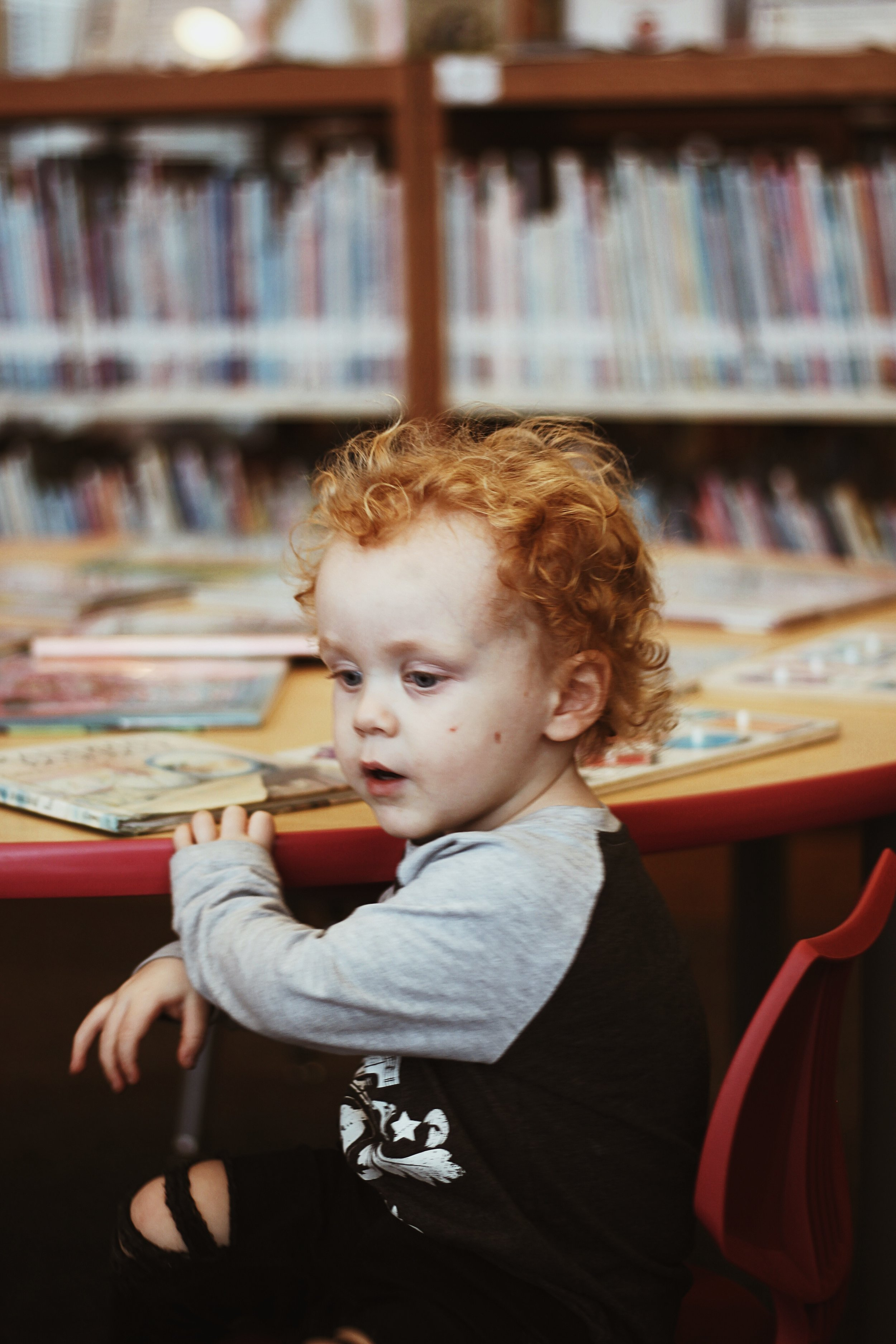 Rainy Days at the Library