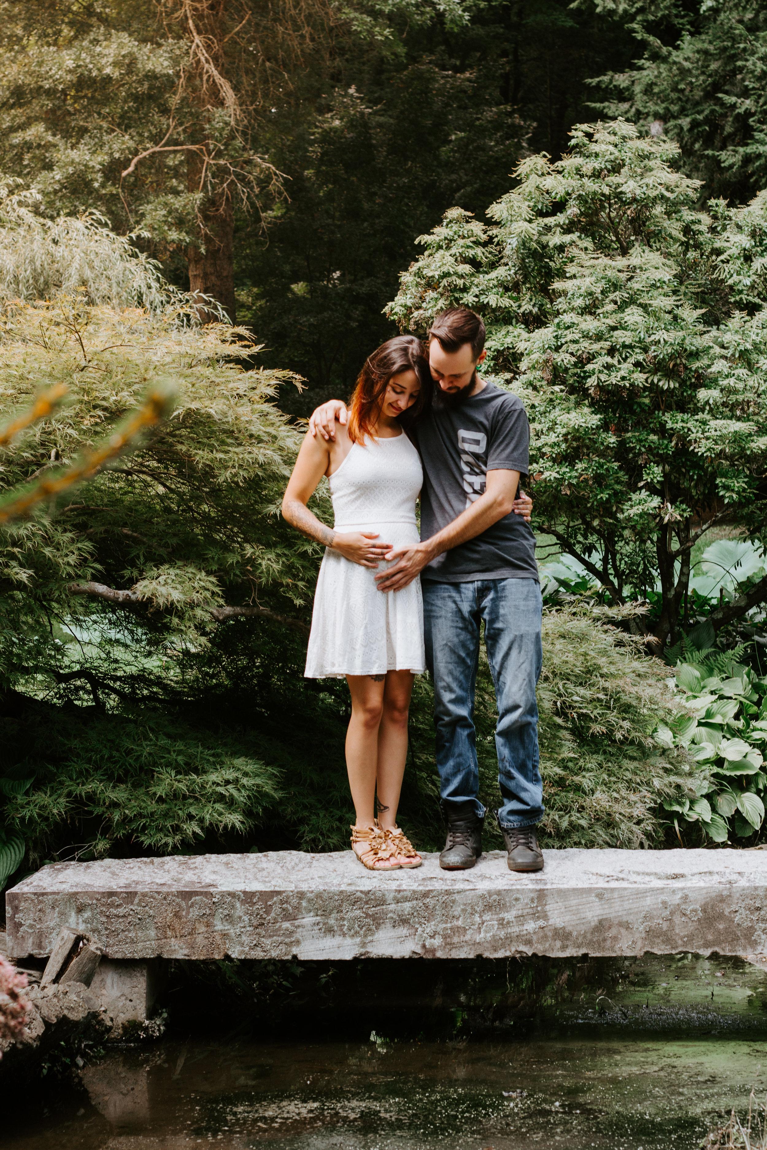 Pregnancy Announcement Shoot