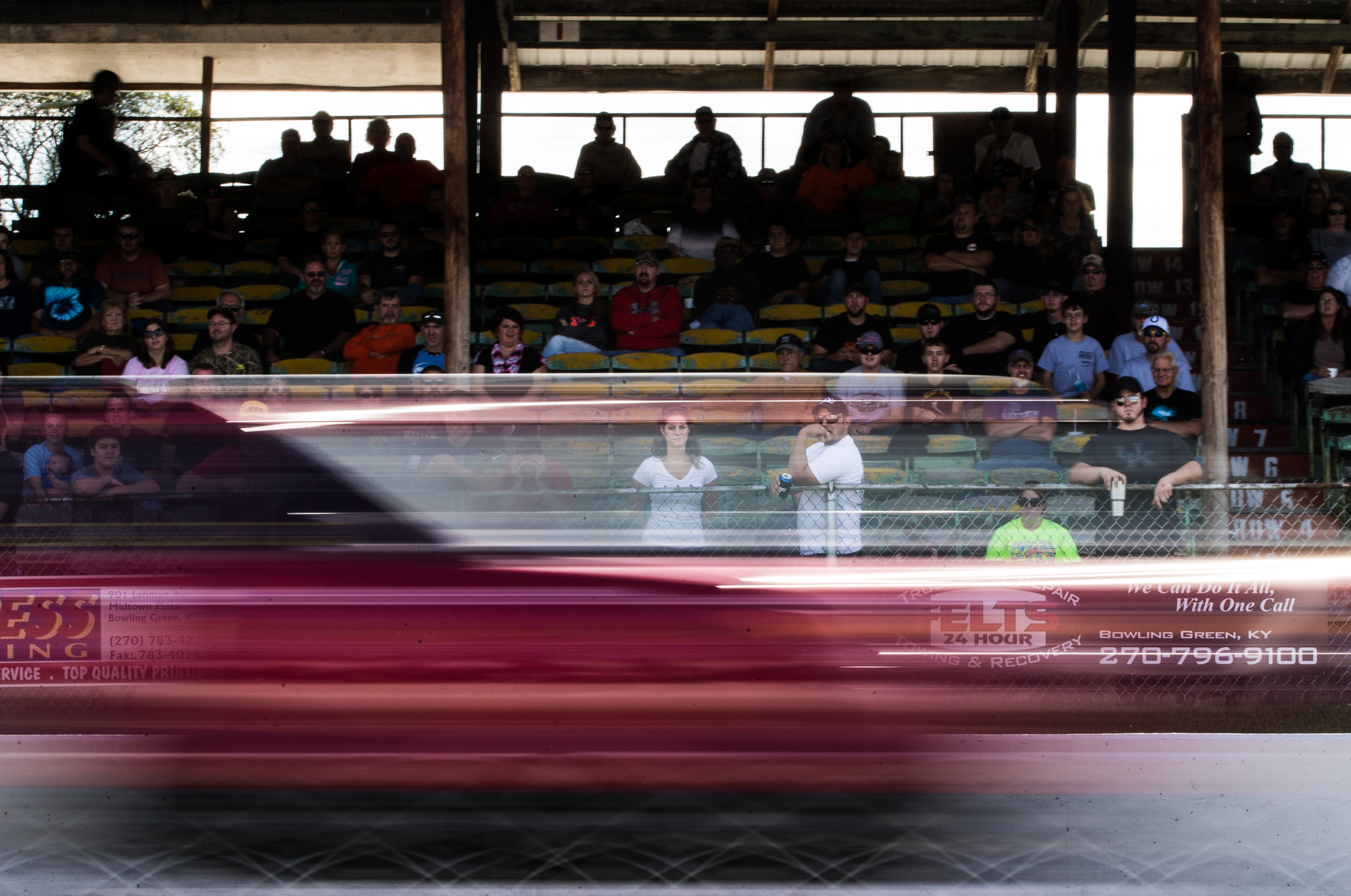 Racers and fans packed the Beech Bend Raceway Park, which hosted the 17th annual NMRA All Ford World Finals from October 1-4, 2015, in Bowling Green, Kentucky.