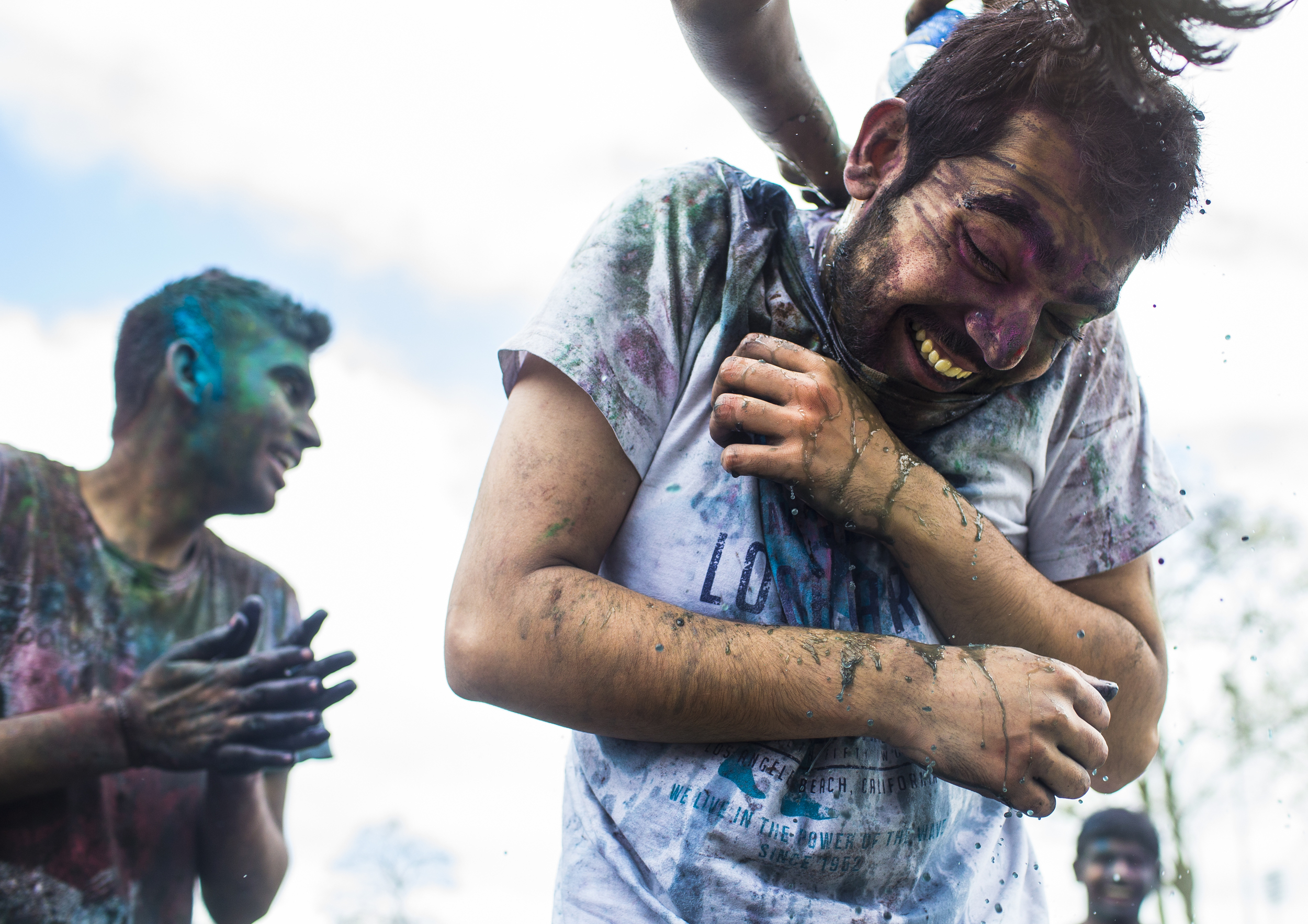 "WKU freshman, Damodhar Bhati, celebrated the festival of Holi on Saturday, March 19, 2016. This colorful holiday represents the triumph of ""good"" over ""evil"" and the first days of spring."