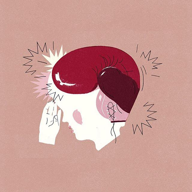 Children's Migraines 💥🥊 New piece for @nytimes POW!