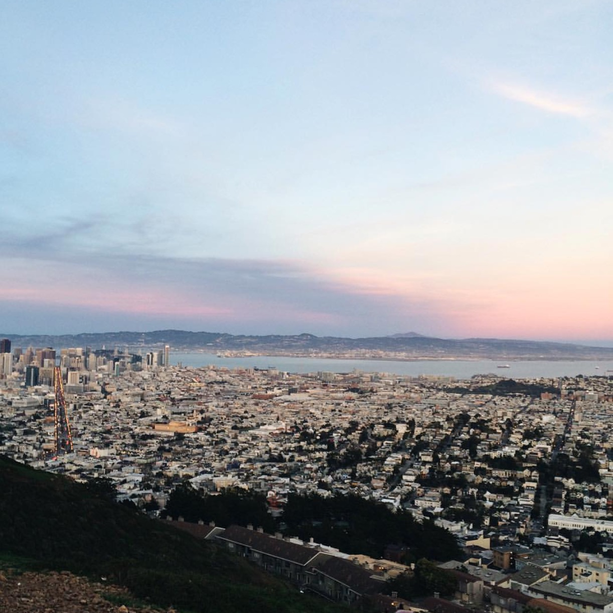 Repost of Twin Peaks Sunset