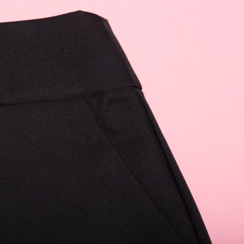 Black pencil skirt + NATIA ERIN