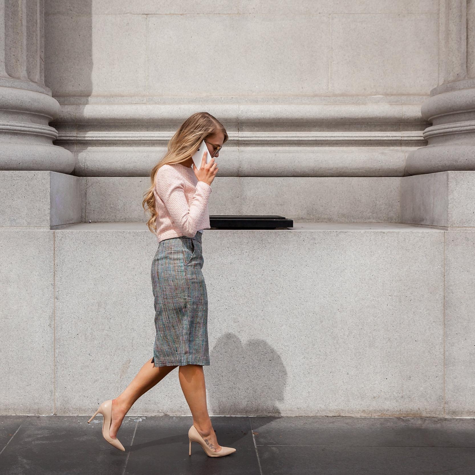 Tweed work wear by Natia Erin