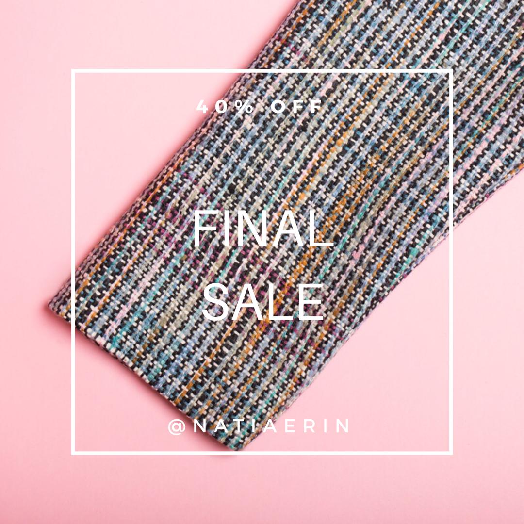 Final Sale at NATIA ERIN