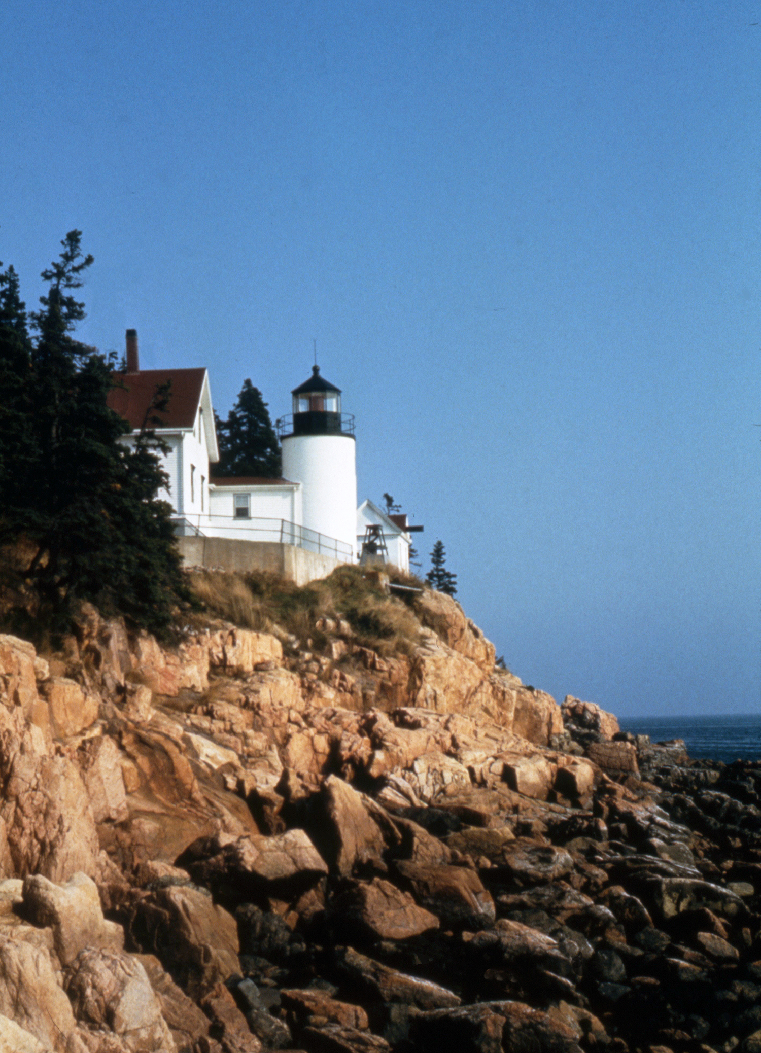 The Light at Bass Harbor