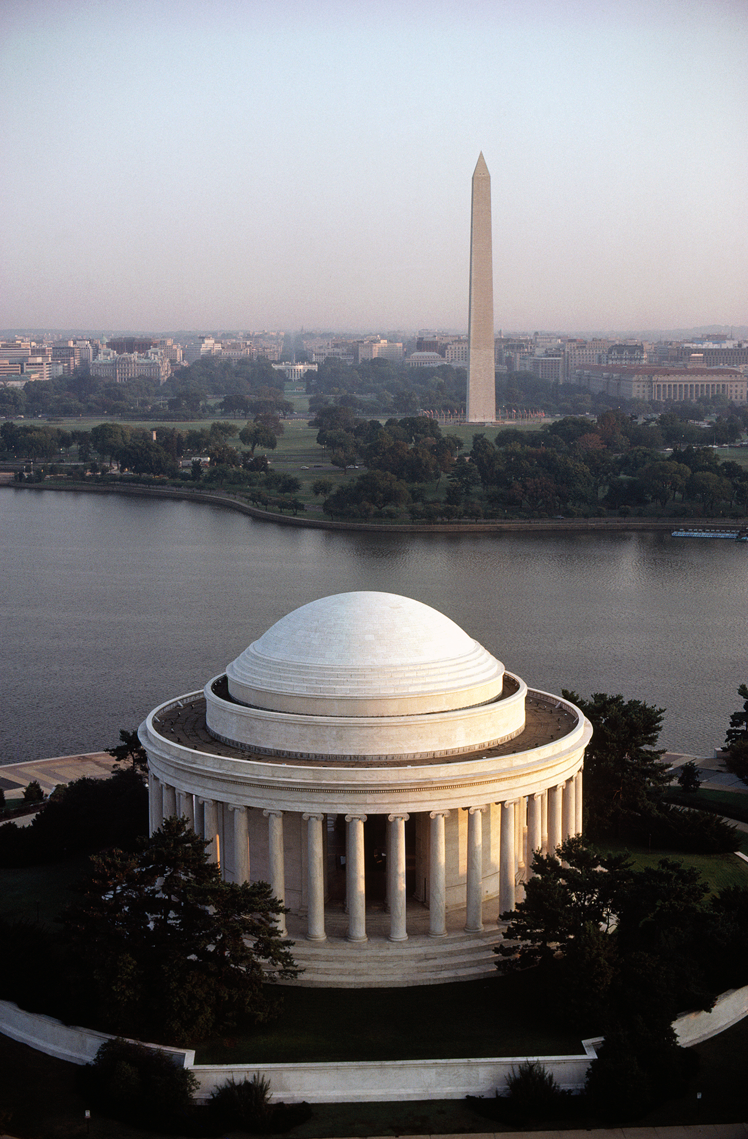 Above the Jefferson
