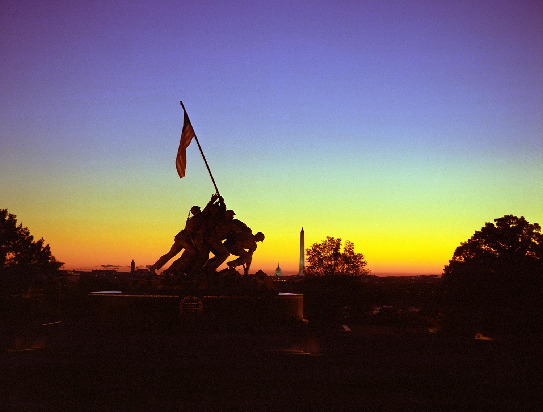 Sunrise at Iwo Jima