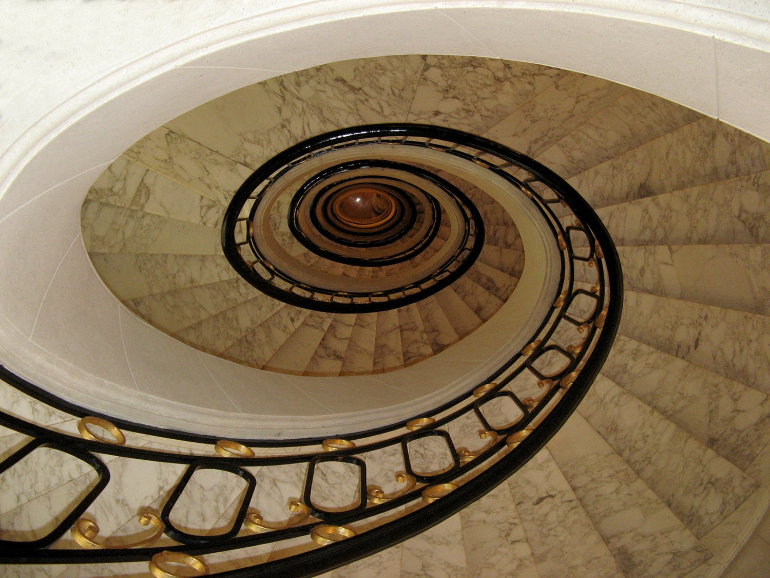 Alvear Palace Spiral Stairs