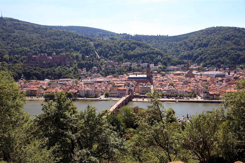 Skyline of Heidelberg