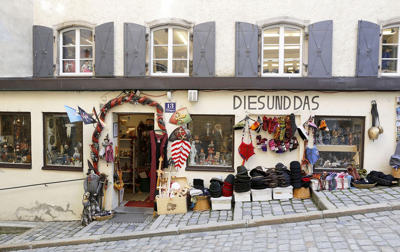 Gift Shop in Passau