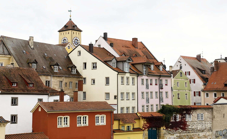 Regensburg on the Danube