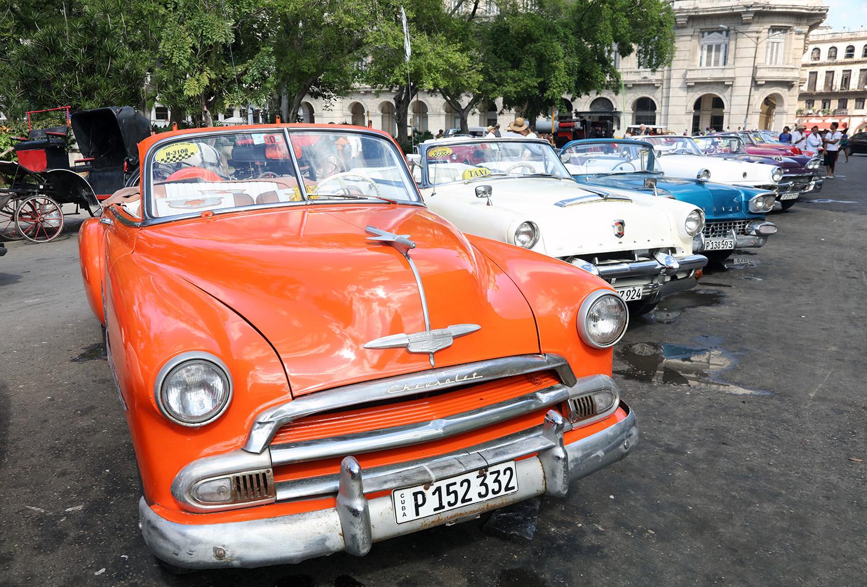 The Orange Chevy
