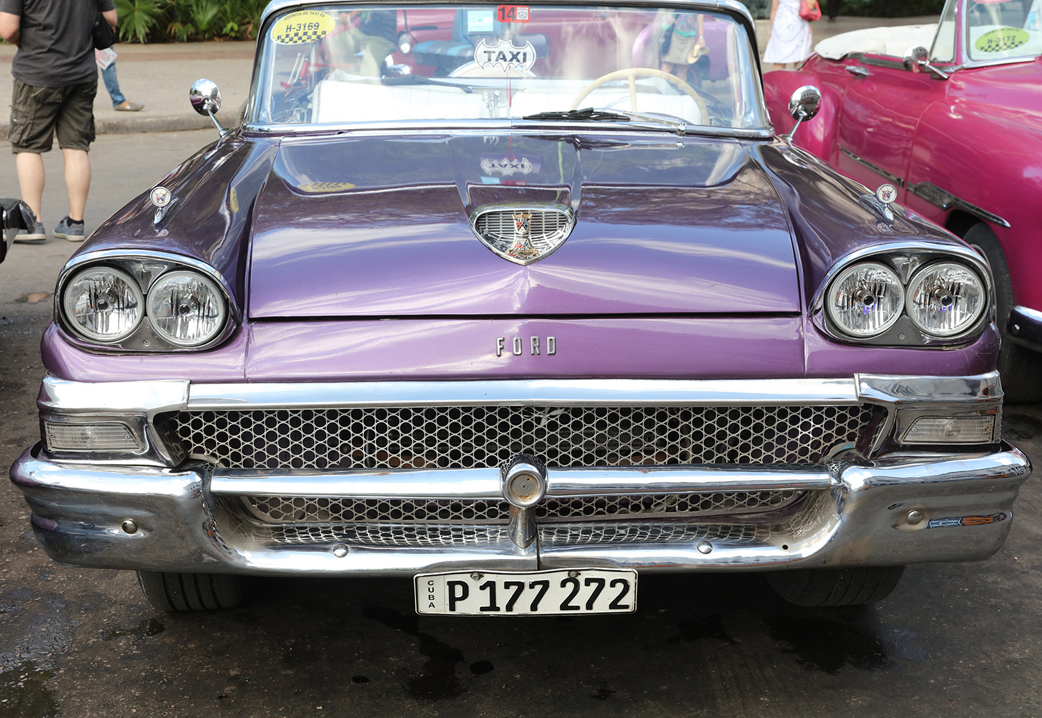 The Purple Ford