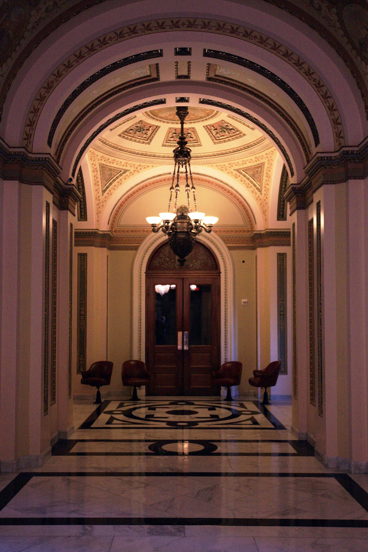 The Presidential Entrance
