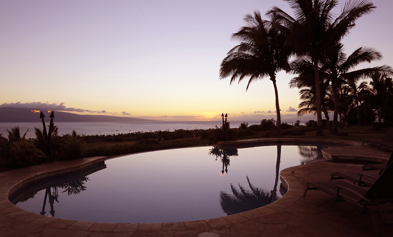 Afterglow in Lahaina