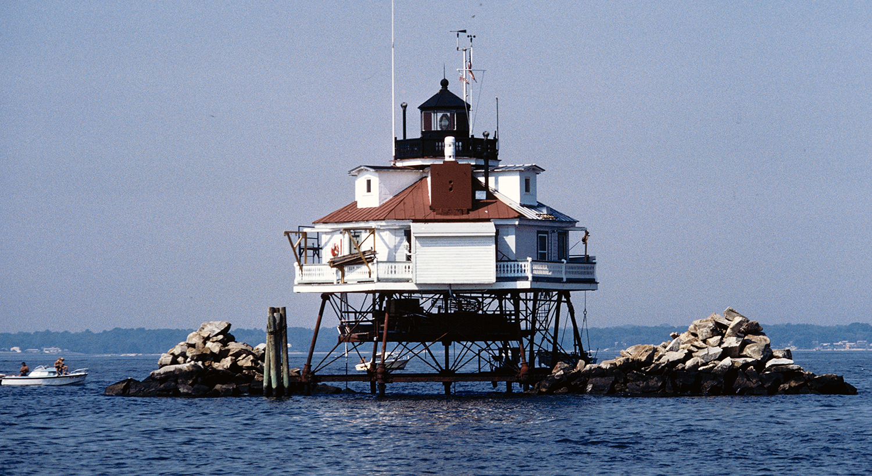 The Thomas Point Shoal Light