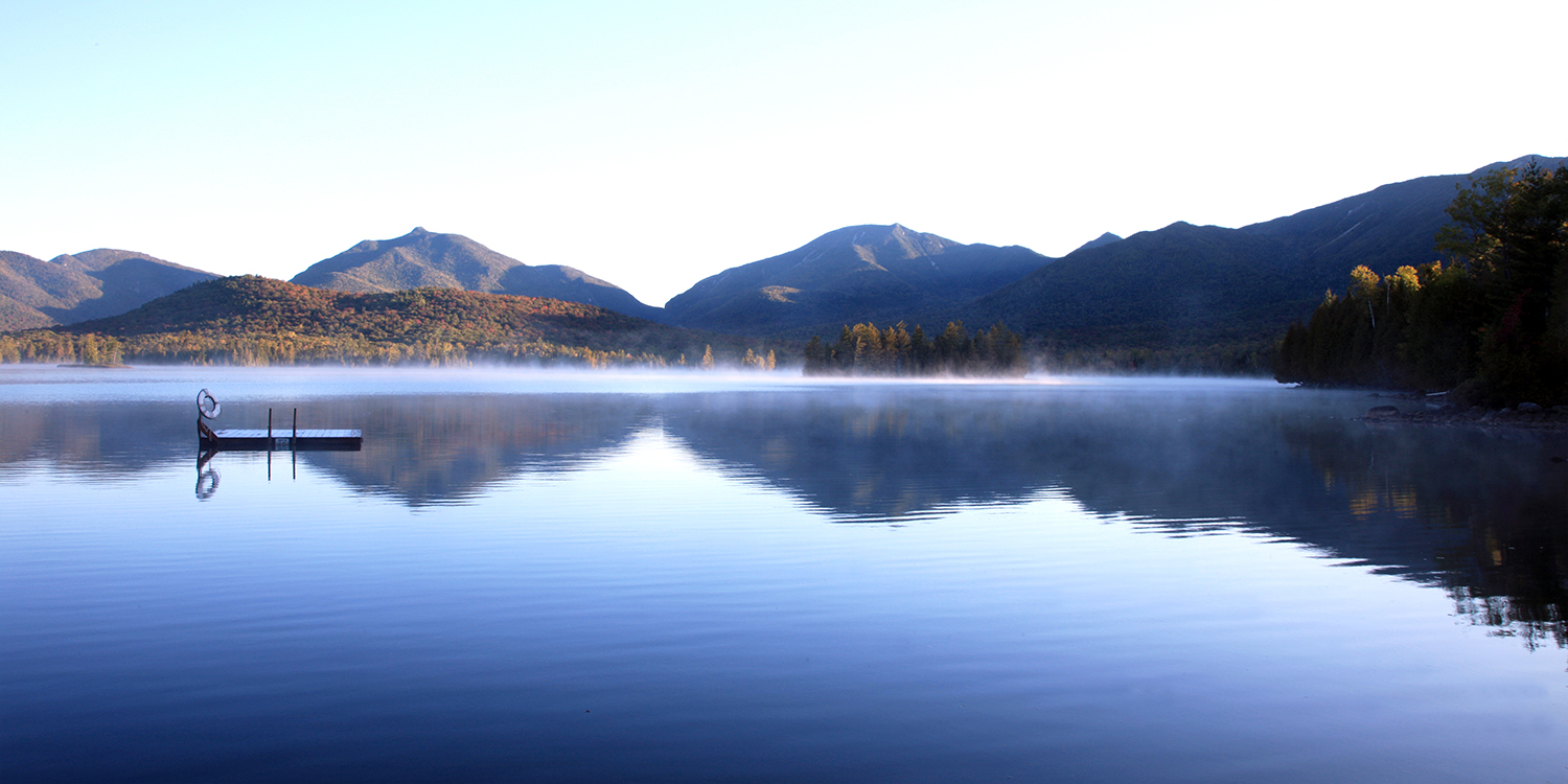 Dawn at Elk Lake
