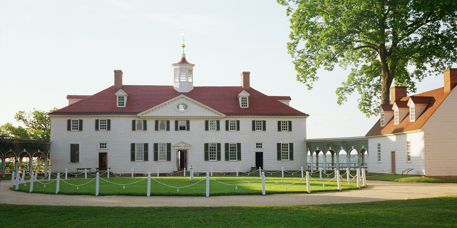 Arriving at Mount Vernon