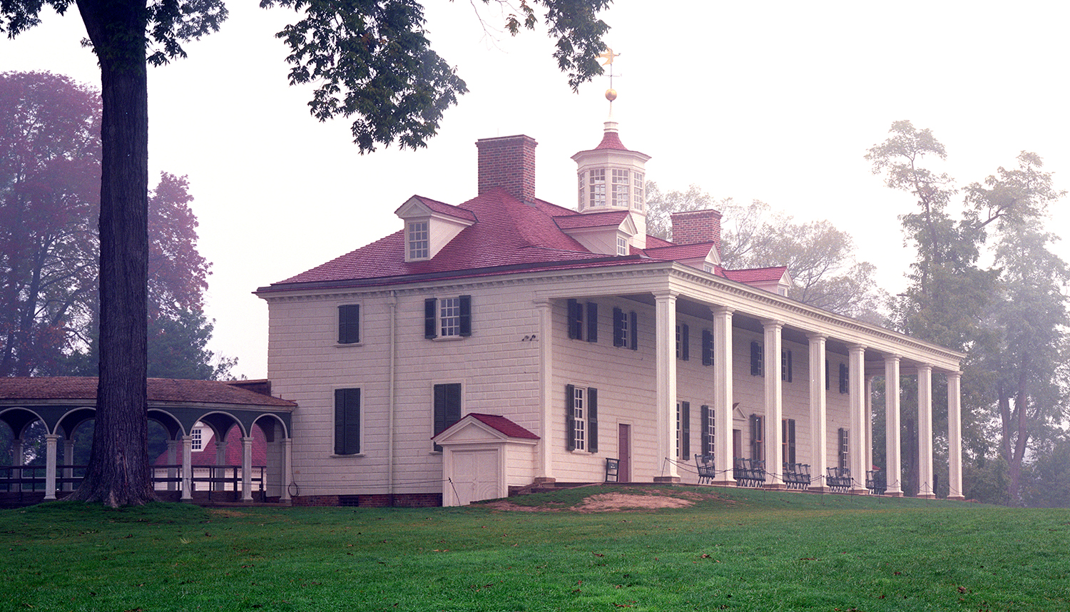 The East Front of Mount Vernon