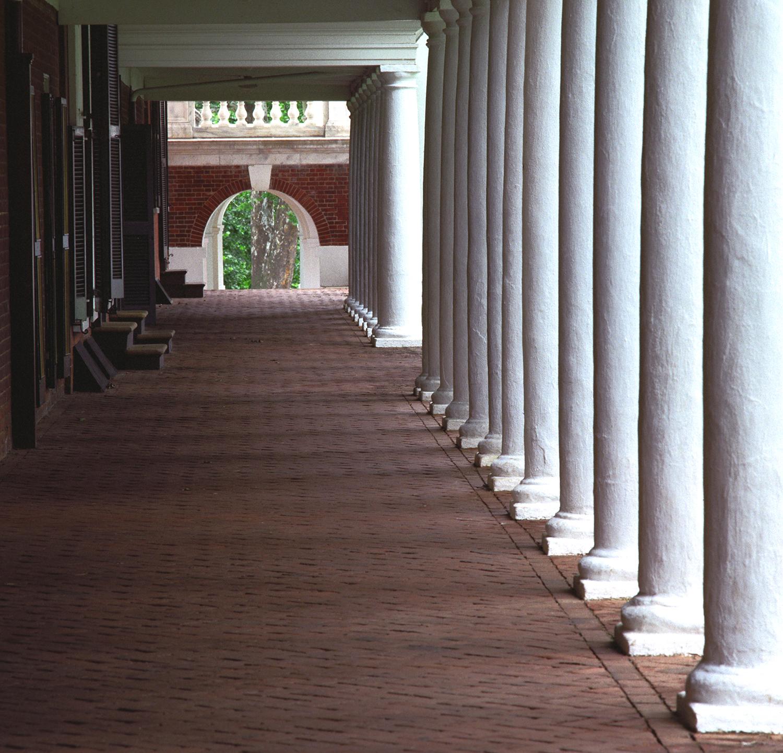 The Portico at UVA