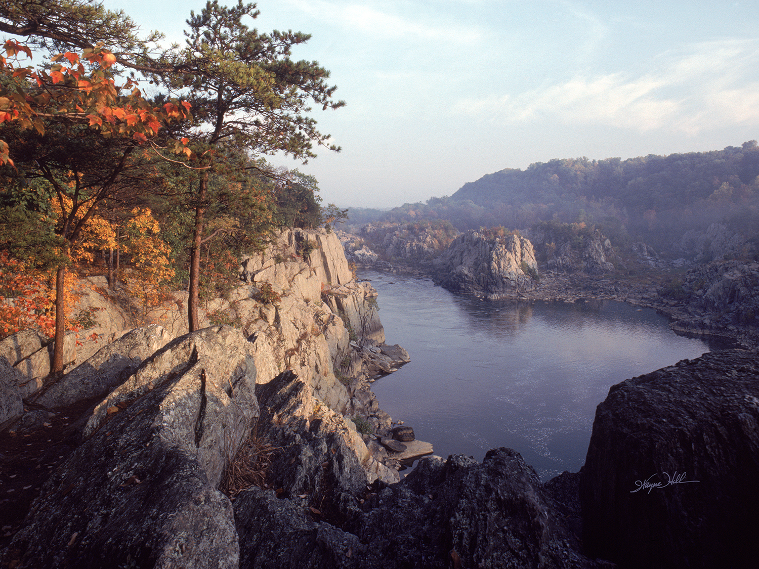 October at Mather Gorge