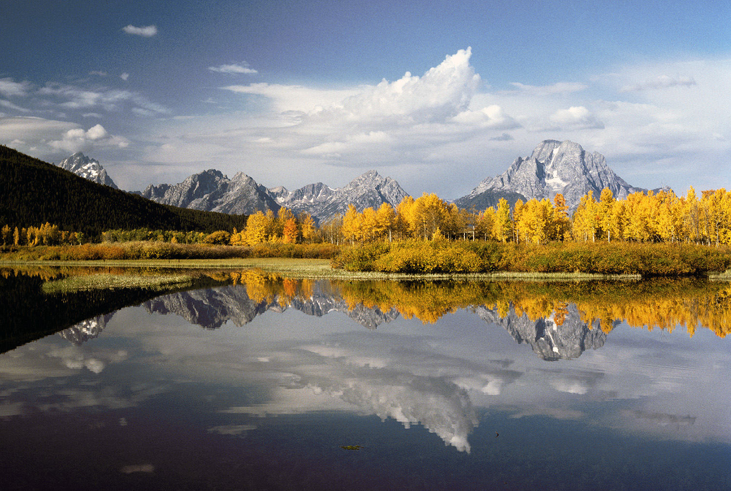 Oxbow Bend in October